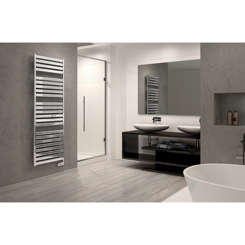 Radiador toallero en acero - Radiadores electricos decorativos ...