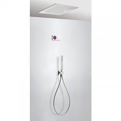 Kit electrónico de ducha termostático empotrado
