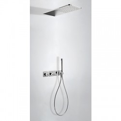 Kit de ducha termostático empotrado