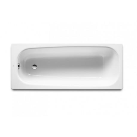 Bañera de fundición rectangular