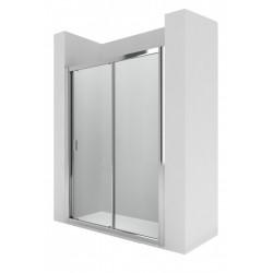L2E - Mampara de ducha con una puerta corredera