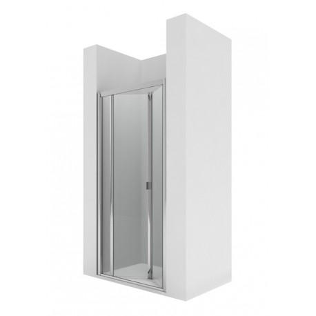 Frontal ducha 2 puertas plegables