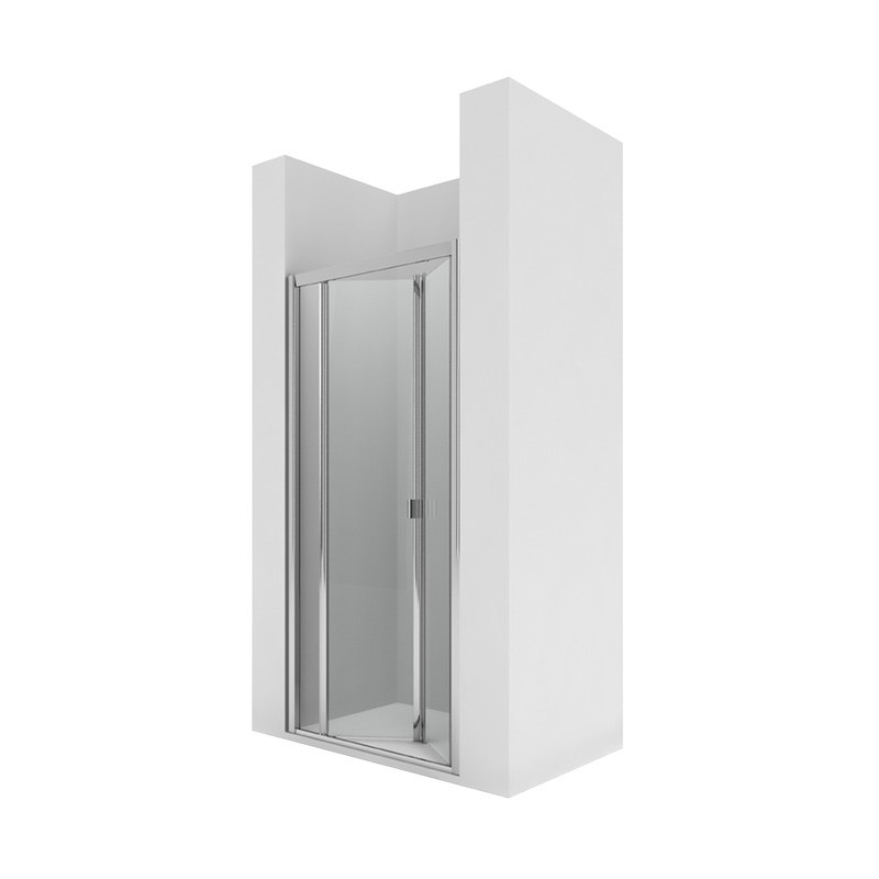 Frontal ducha 2 puertas plegables amaigas gas for Frontal ducha