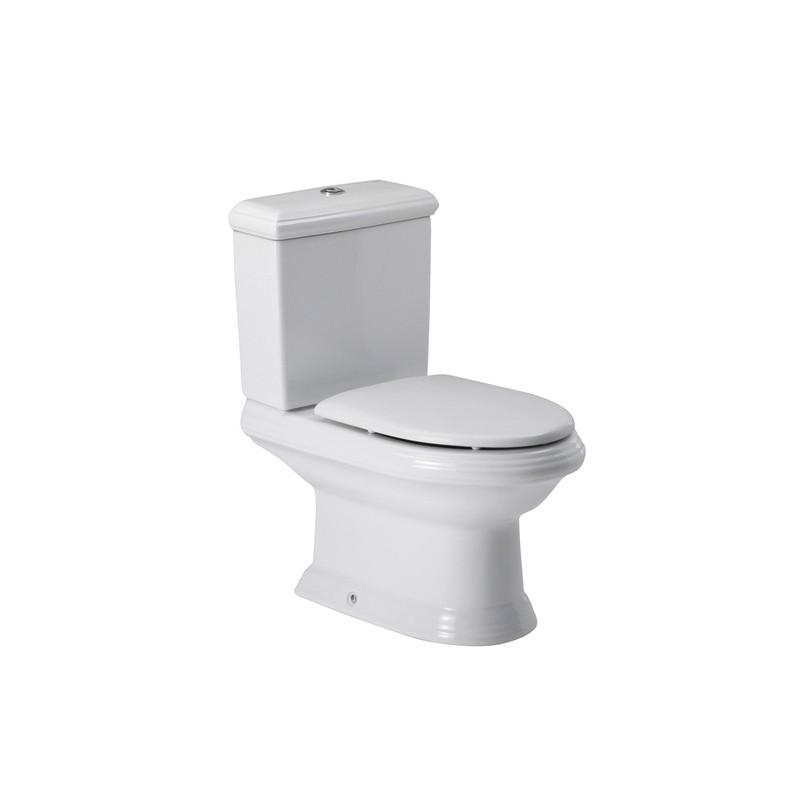 Inodoro de porcelana con salida dual for Inodoro con salida dual
