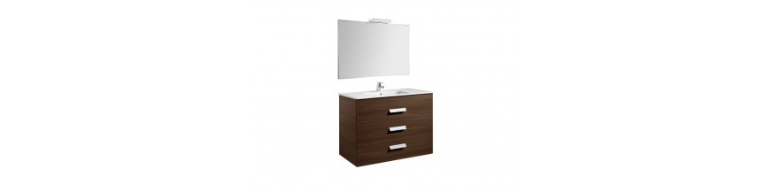 Lavabos, muebles, espejos e iluminacion